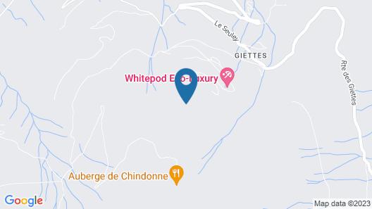 Whitepod Map