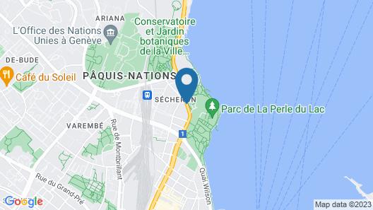 Hotel Mon-Repos Map