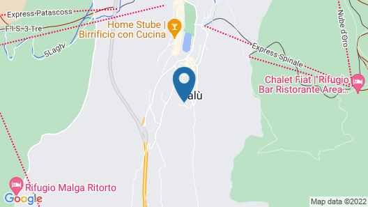Ciclamino Apartment Map