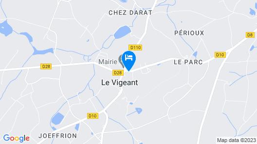 Chez Keona Map
