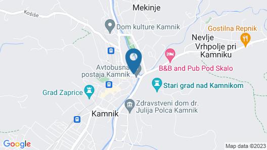 Hotel MD Kamnik Map