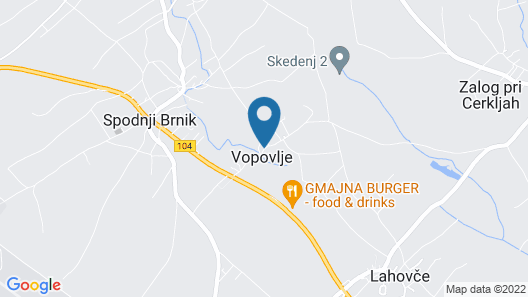 Hotel Penzion Jagodic Map
