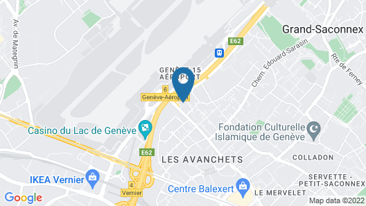 Nash Pratik Hotel Map