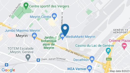 NH Geneva Airport Map