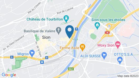 Hotel Castel Map