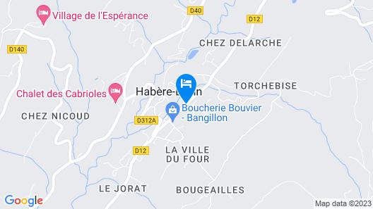 Aux Touristes Hôtel Restaurant Map