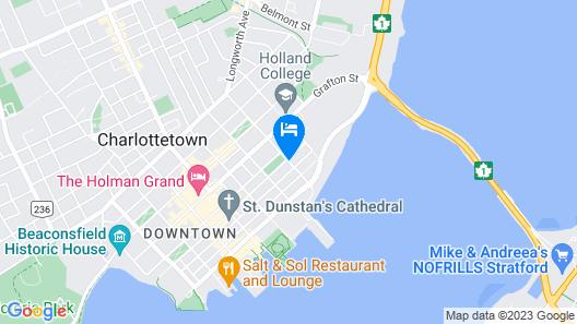 The Sydney Boutique Inn Map