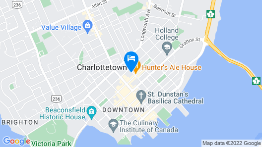 Prince Street Suites Map