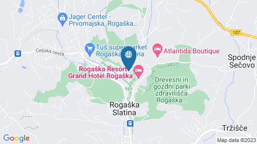 Hotel Aleksander Medical & SPA Map