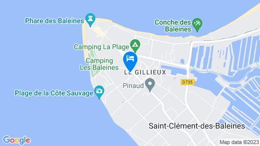 Camping Les Pérouses Map