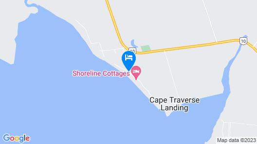 80 Oceanside Cottage Map