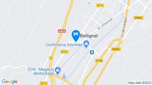 A La Grenouille Map
