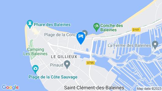 Odésia Vacances Village Club Le Phare Map
