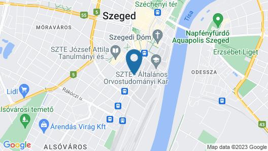 Auris Hotel Map