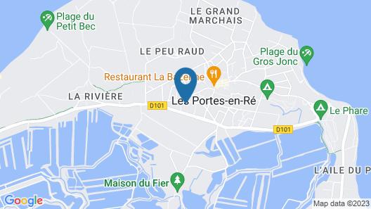 Villa Olivier Map