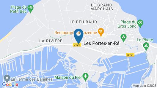 Hotel Restaurant L'Emeraude Map