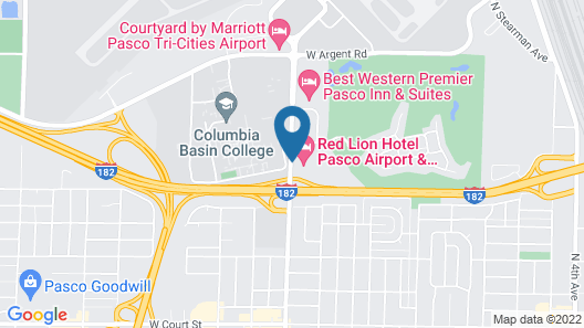 Red Lion Hotel Pasco Airport & Conference Center Map