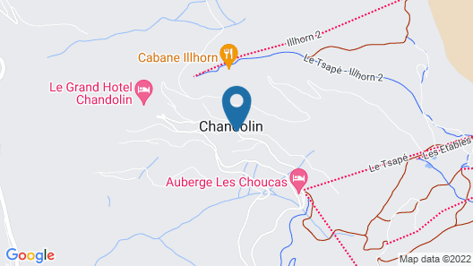 Chandolin Boutique Hotel Map