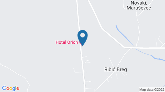 HOTEL ORION Map