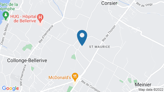BnB Atelier de St. Maurice Map