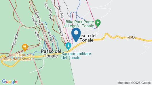 Hotel La Torretta Map