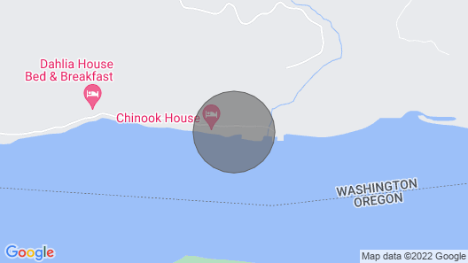 The Coho Cabin is Located at the Historic Fishing Town of Pillar Rock Map