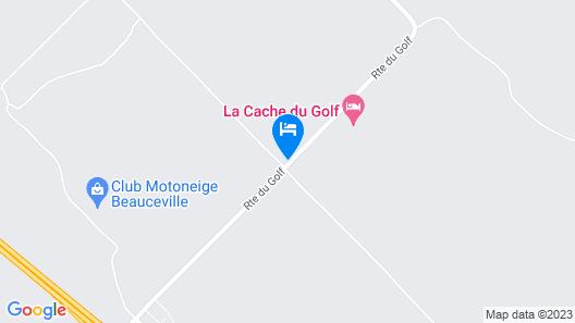La Cache du Golf by C Hôtels Map
