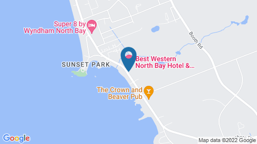 Best Western North Bay Hotel & Conference Centre Map