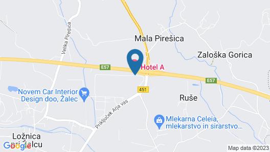 Hotel A Map