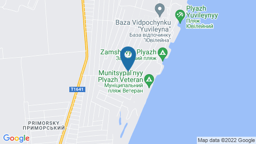Guest House Shafran Map