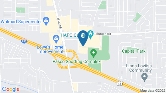 Holiday Inn Express Hotel & Suites Pasco-Tri Cities, an IHG Hotel Map