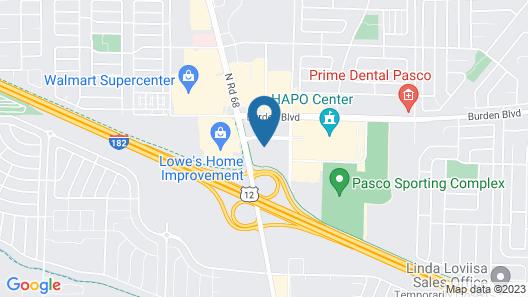 My Place Hotel-Pasco/ Tri-Cities, WA Map
