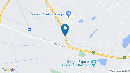 Tisza Corner Hotel Map