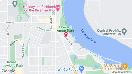 Hampton Inn Richland/Tri-Cities Map