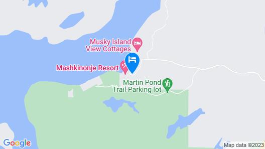 Mashkinonje Lodge Map