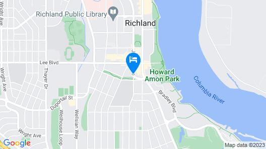 Days Inn by Wyndham Richland Map