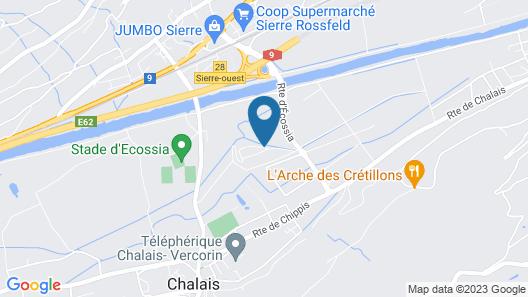 Castel de Daval Map