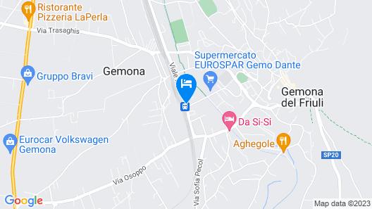 Hotel Pittini Map