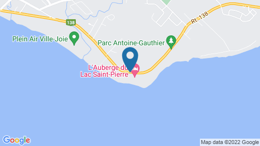 L'Auberge du Lac Saint-Pierre Map