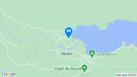 Hotel & Villa STARE at Lake Bohinj Map