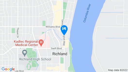 Richland Inn and Suites Map