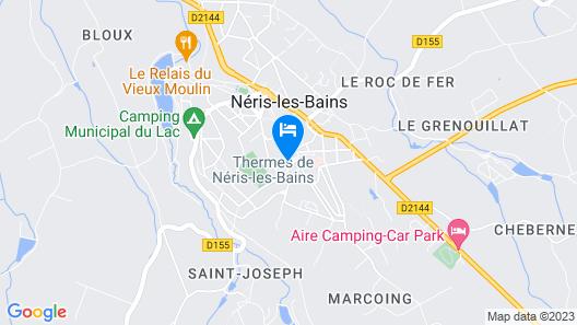Résidence De La Source Map
