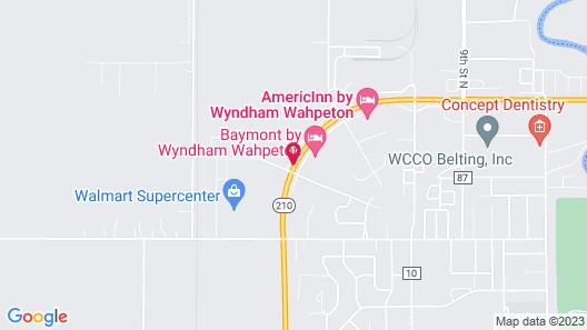 Baymont by Wyndham Wahpeton Map