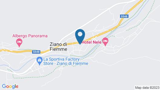 Hotel Genzianella Map
