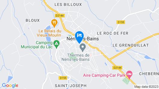 Mona Lisa Néris Map