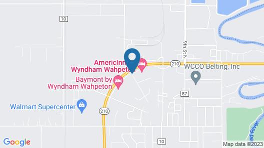 AmericInn by Wyndham Wahpeton Map