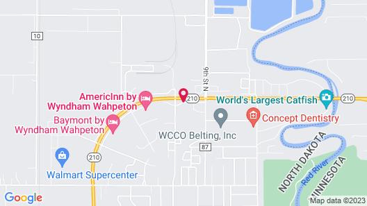 Travelodge by Wyndham Wahpeton Event Center Map