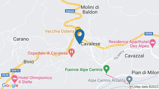 Park Hotel Sacro Cuore Map