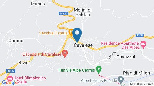 Hotel Orso Grigio Map