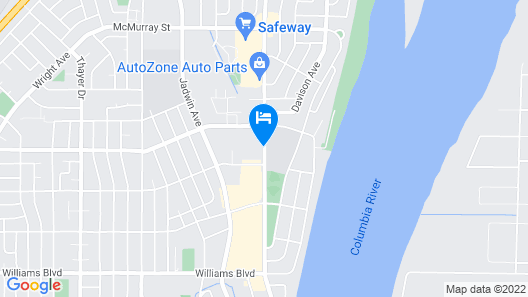 Best Western Plus Columbia River Hotel & Conference Center Map